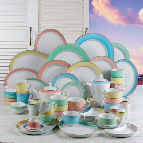 Rio Blue Tableware