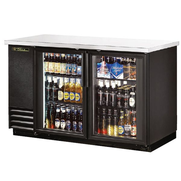 True Back Bar Coolers