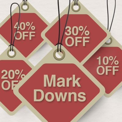 Weekly Markdowns