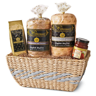 Buy cheap gift baskets - Bright Breakfast Gift Basket Delight