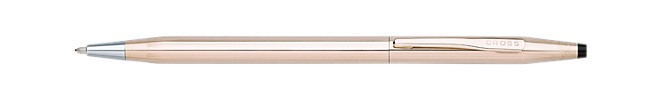 Classic Century Double Or Rose 583/1000 ème (14ct) Stylo Bille