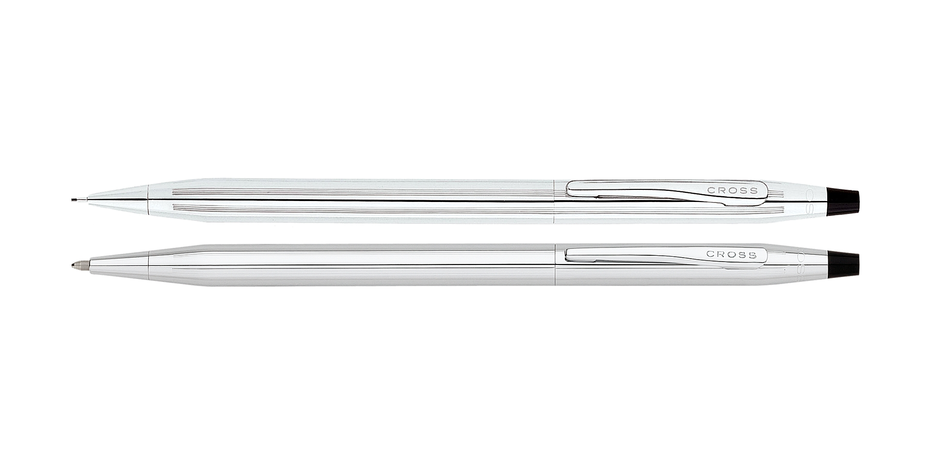 Cross Classic Century Lustrous Chrome Pen and Pencil Set Picture