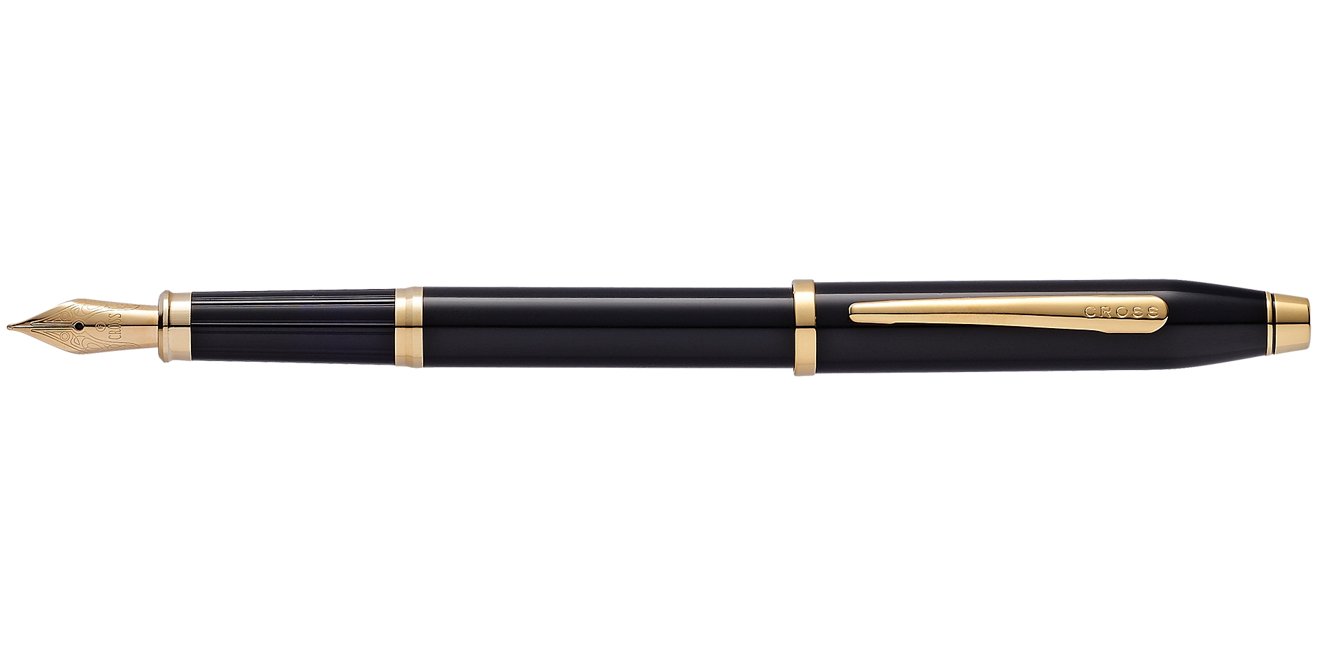 Cross Century II Black Lacquer Fountain Pen Picture