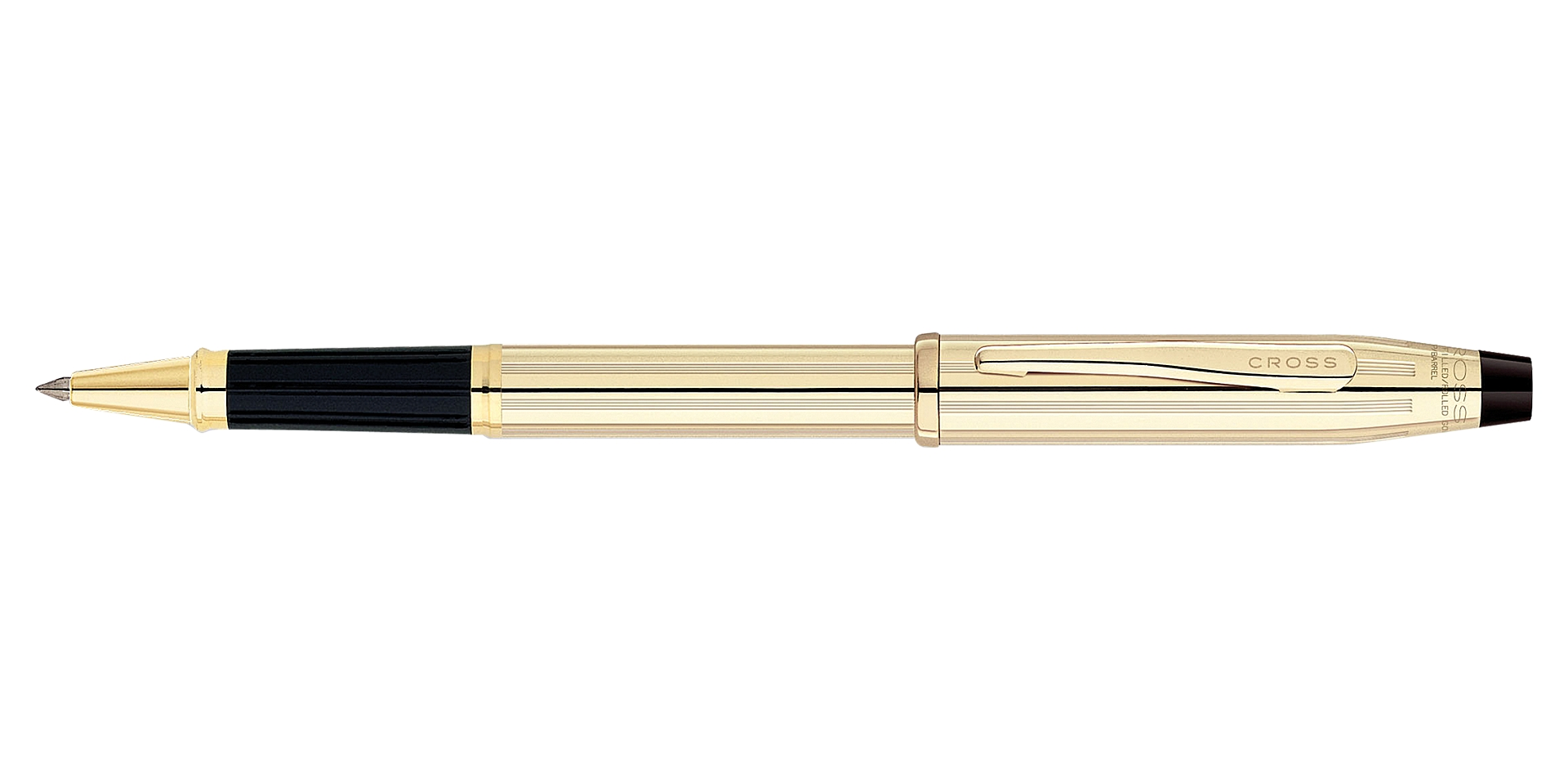Cross Century II 10 Karat Gold Filled/Rolled Gold Rollerball Pen Picture