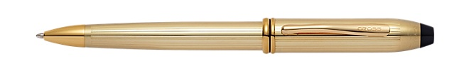 Townsend Ton Or Jaune 416/1000 ème (10ct) Stylo Bille
