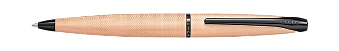 ATX Brushed Rose Gold Ballpoint Pen