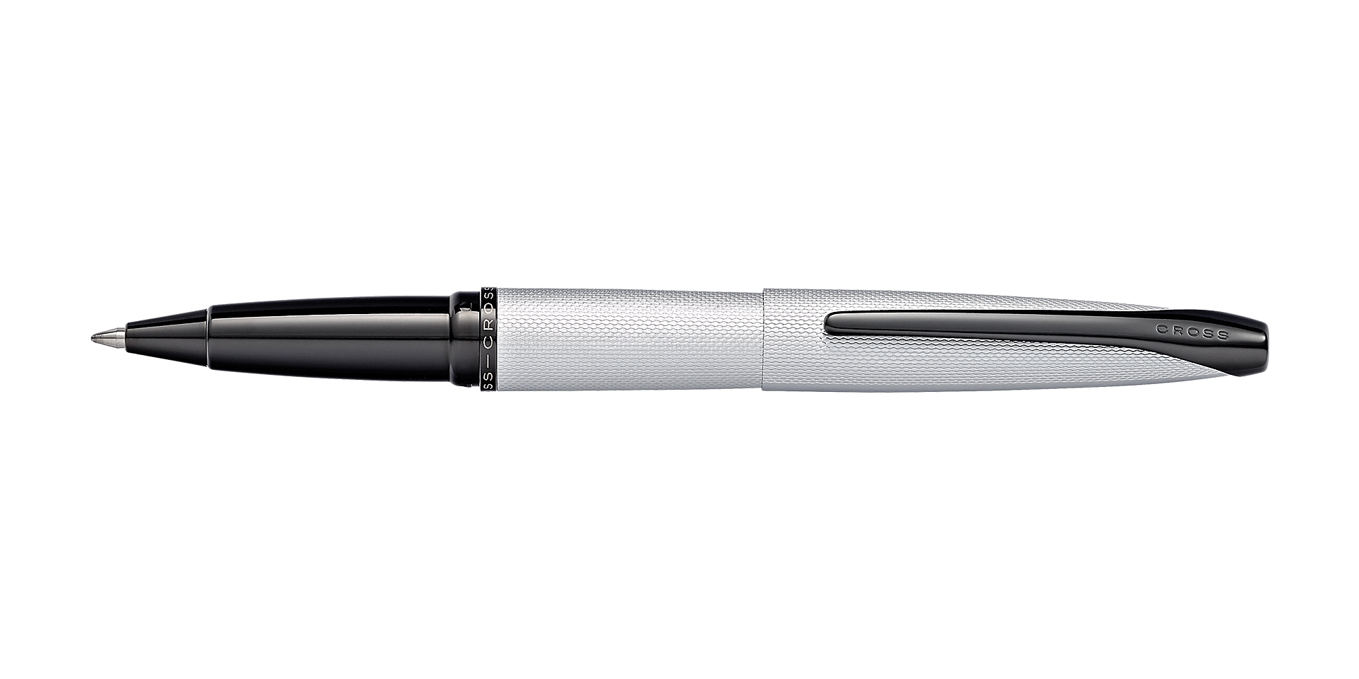 Cross ATX Brushed Chrome Rollerball Pen Picture