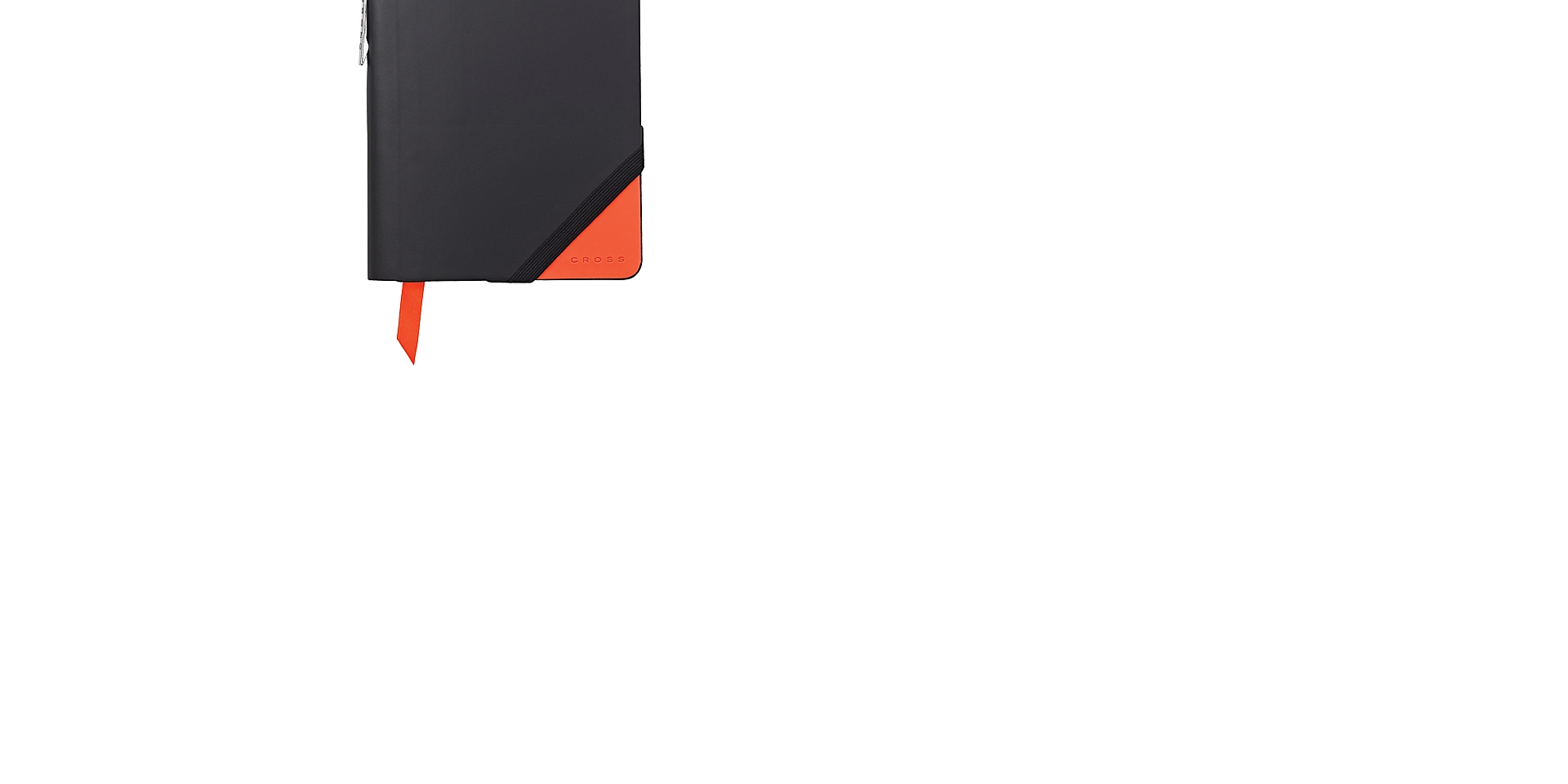 Cross Black & Orange Small Jotzone with Pen Picture