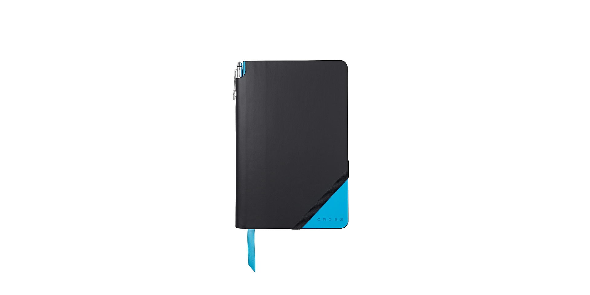 Cross Black & Bright Blue Medium Jotzone with Pen - Graph Paper Picture