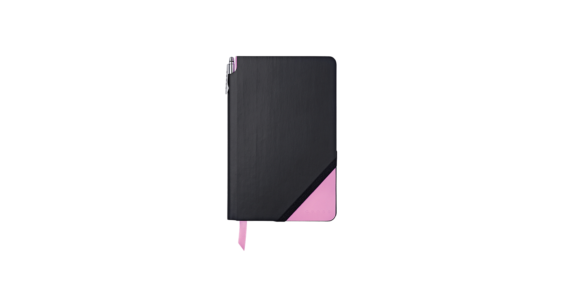 Cross Black & Pink Medium Jotzone with Pen - Graph Paper Picture
