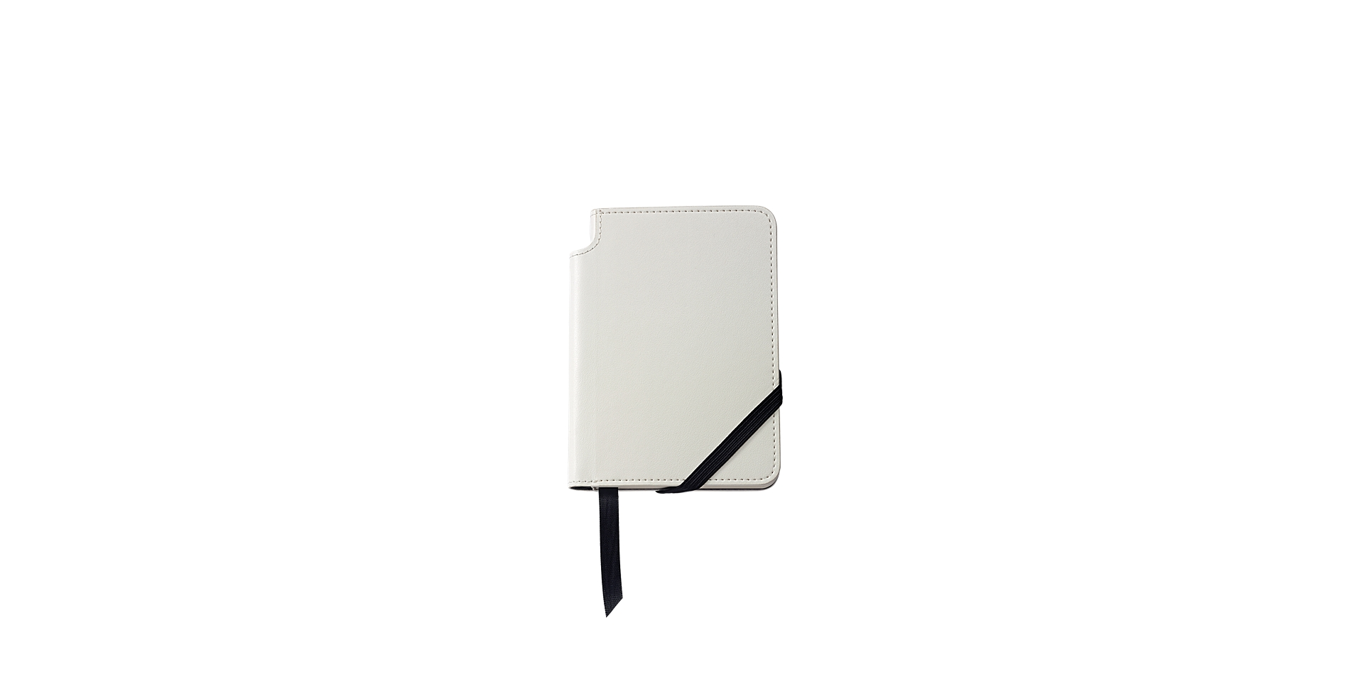 Small Classic White Journal