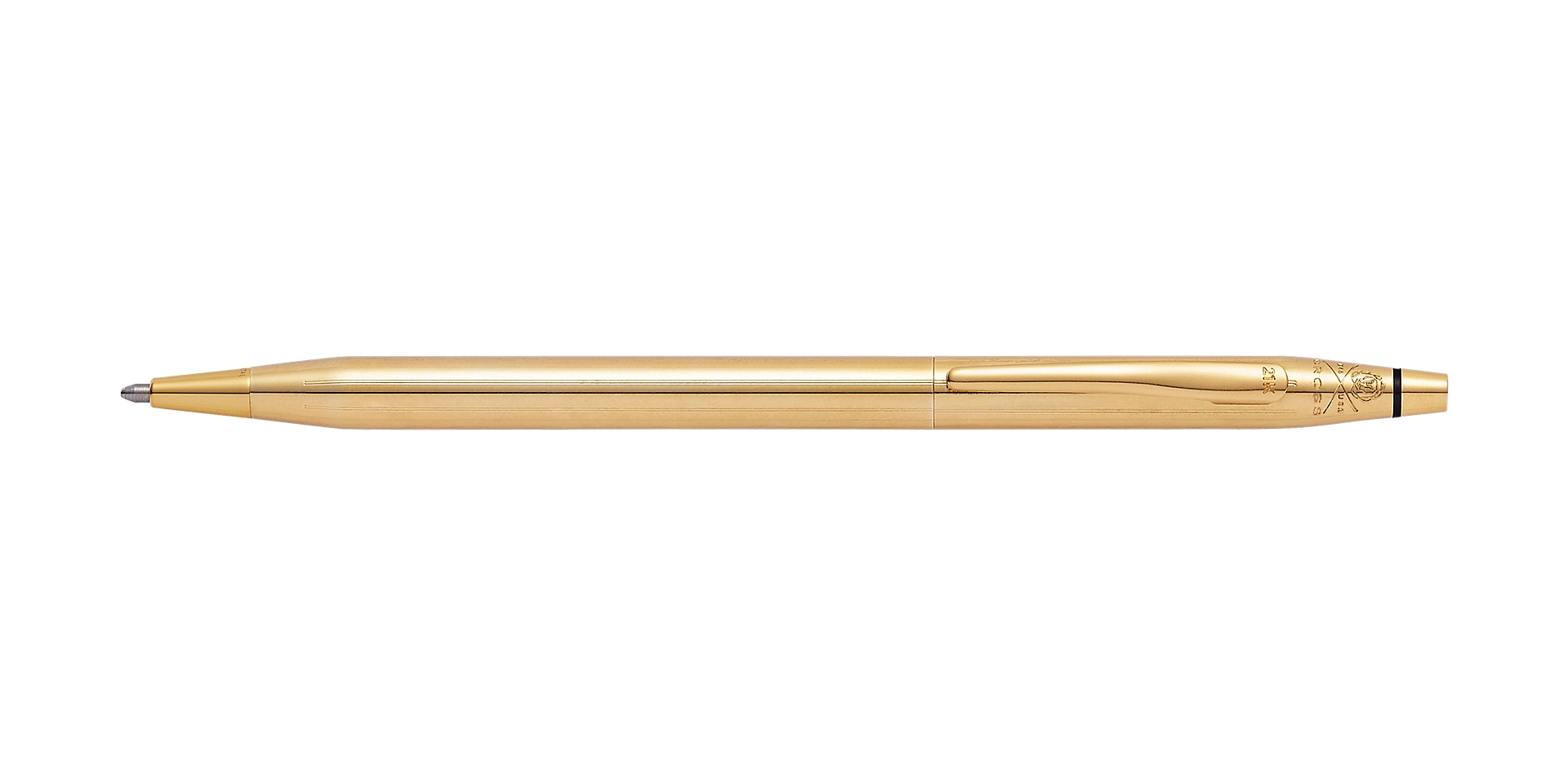 Cross 21st Century Limited-Edition 21K Solid-Gold Ballpoint Pen Picture