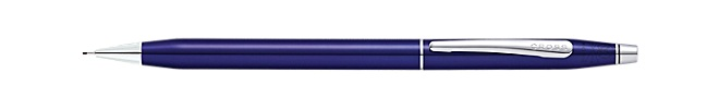 Classic Century Translucent Blue Lacquer  0.7MM Pencil