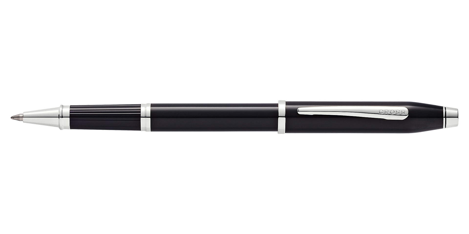 Cross Century II Black Lacquer Rollerball Pen Picture