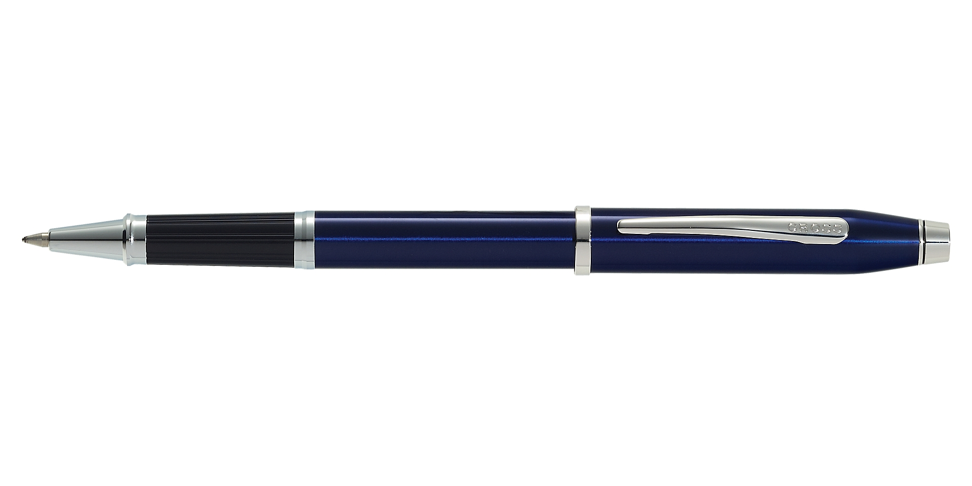Cross Century II Translucent Blue Lacquer Rollerball Pen Picture