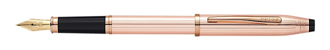 Stylo Plume Century II Or Massif Rose /Plaqué Or 14 Ct
