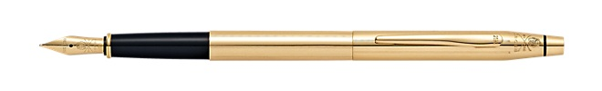 21st Century Limited-Edition 21 Karat Solid-Gold Fountain Pen