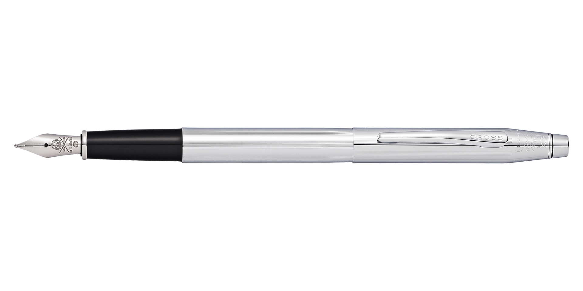 Cross Classic Century® Chrome Fountain Pen Picture