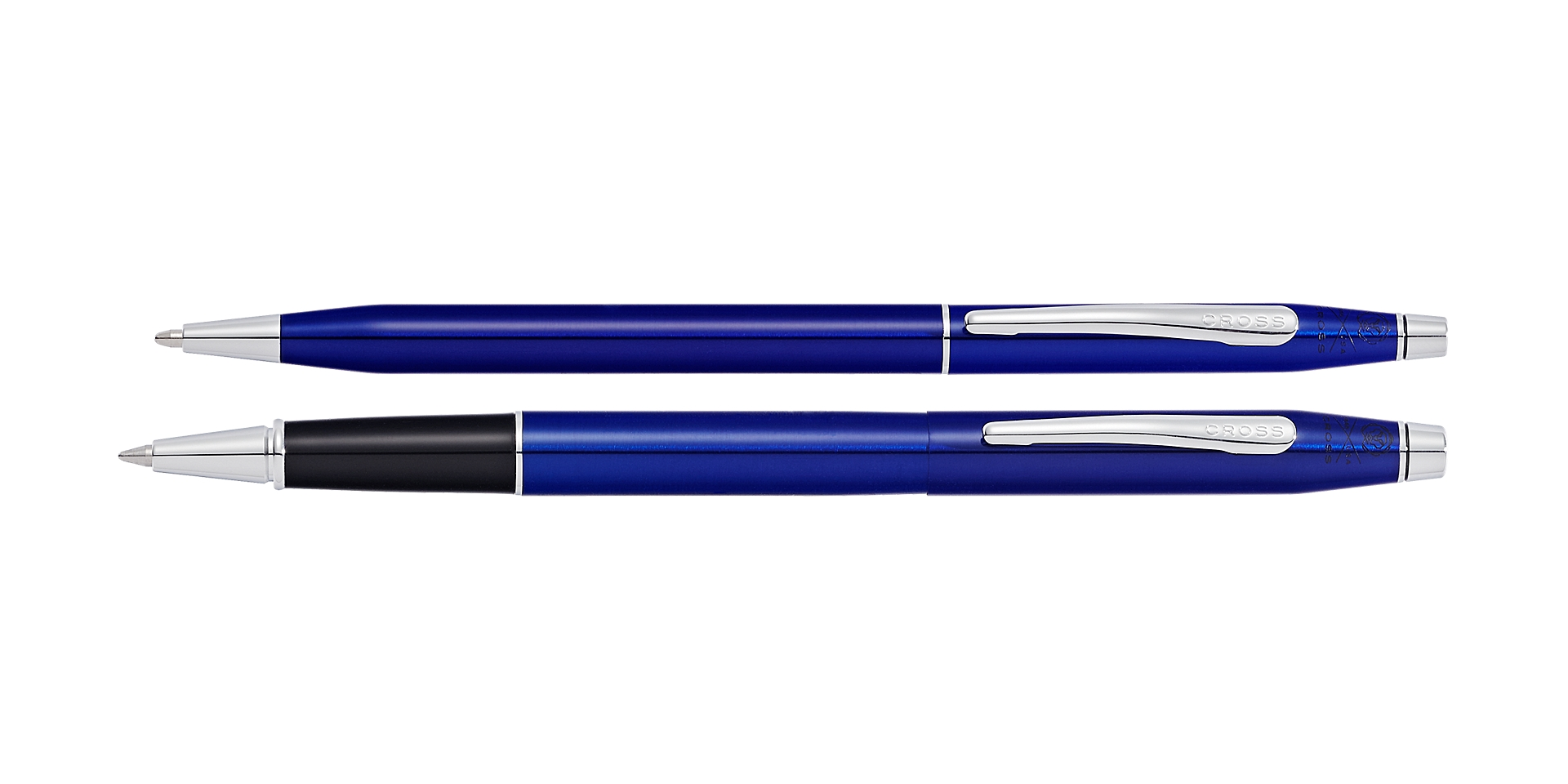 Cross Classic Century® Translucent Blue Lacquer Ballpoint and Rollerball  ... Picture