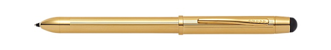 Tech3+ 23KT Gold Plate Multifunction Pen