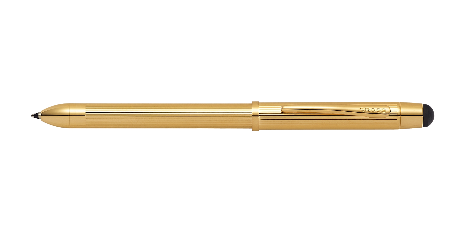 Cross Tech3+ 23KT Gold Plate Multifunction Pen Picture