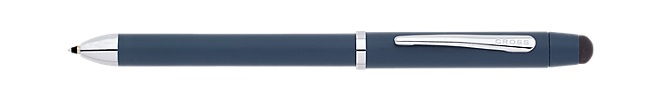 Tech3 Satin Blue Multi-Function Pen