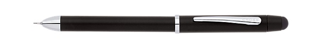 Tech3+ Satin Black Multi-Function Pen
