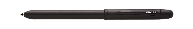 Tech3 All-Satin Black Multi-Function Pen