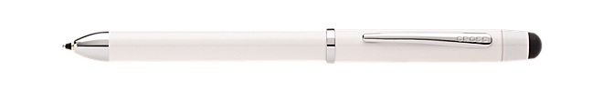 Tech3+ Pearl White Multi-Function Pen