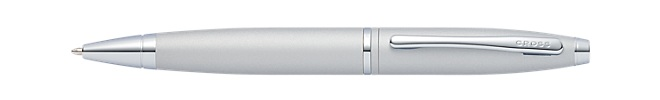 Calais Satin Chrome Ballpoint Pen