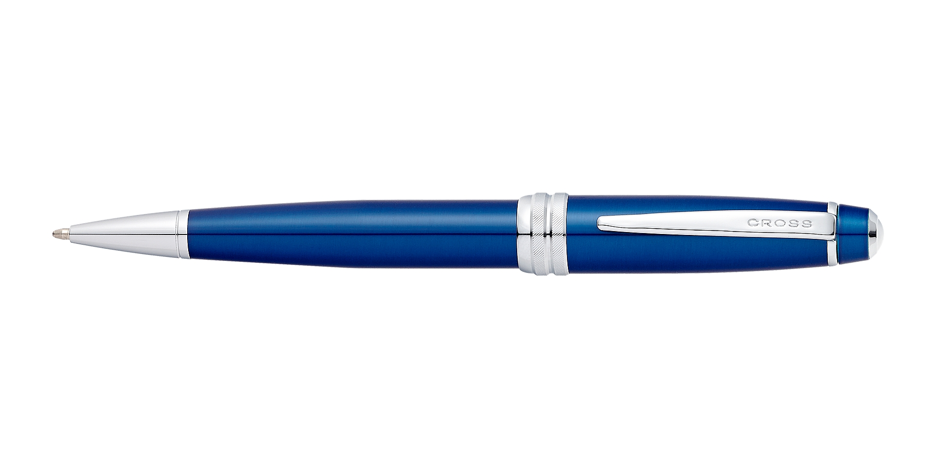 Cross Bailey Blue Lacquer Ballpoint Pen Picture