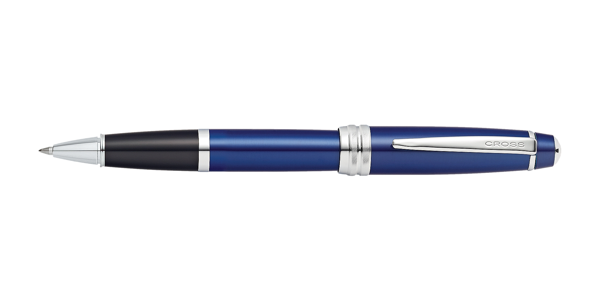Cross Bailey Blue Lacquer Rollerball Pen Picture