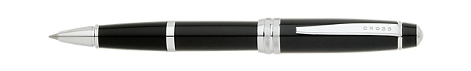 Bailey Black Lacquer Selectip Gel Rolling Ball Pen