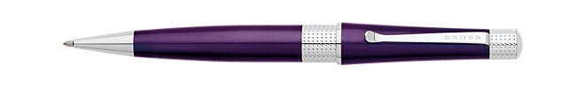 Beverly Deep Purple Lacquer Ballpoint Pen