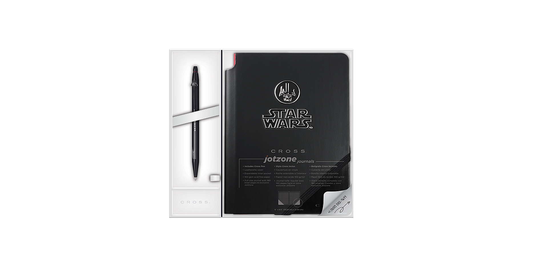 Cross Click/Jotzone Star Wars® Gift Sets - Darth Vader Picture