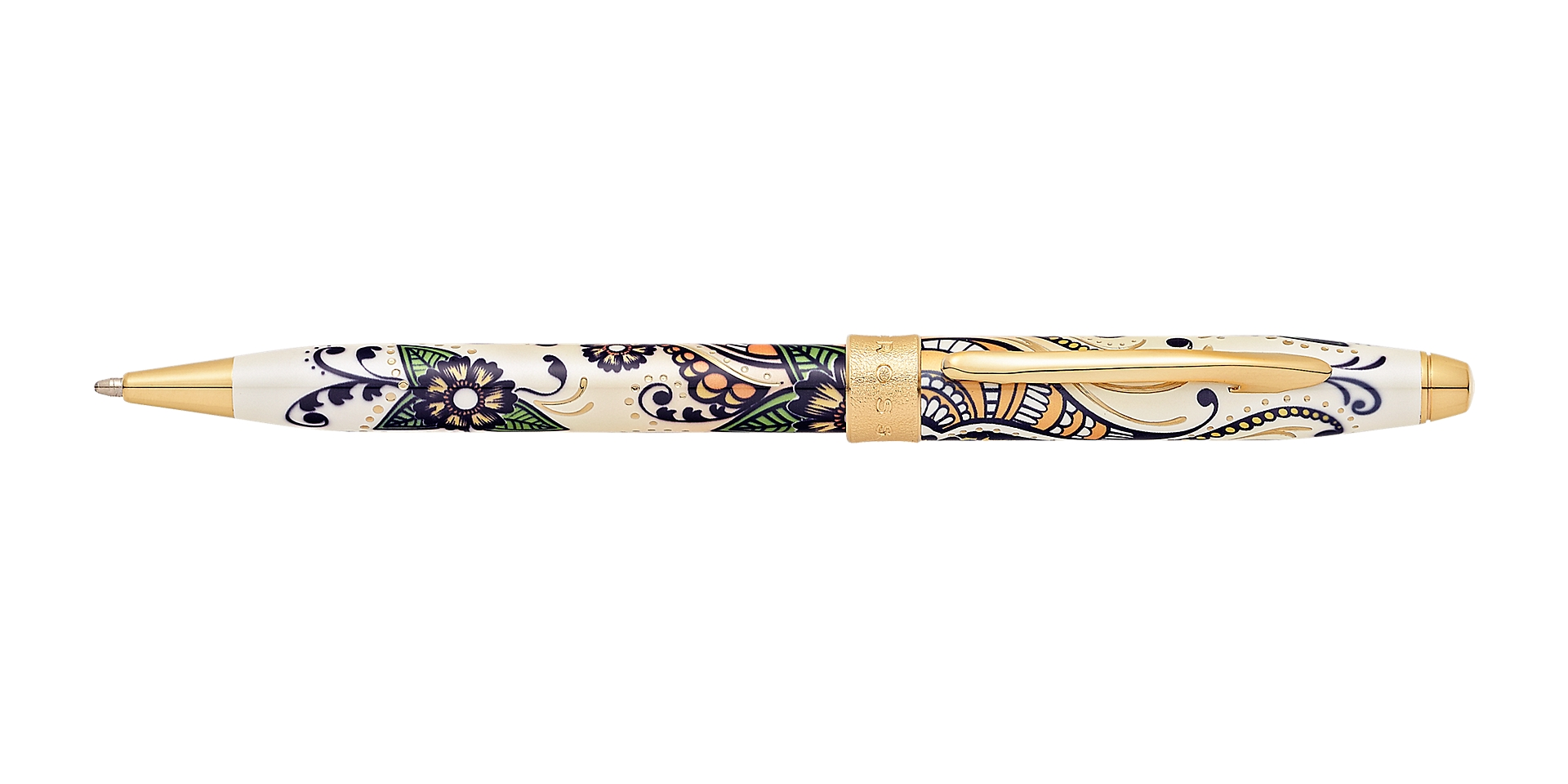 Cross Botanica Golden Magnolia Ballpoint Pen Picture