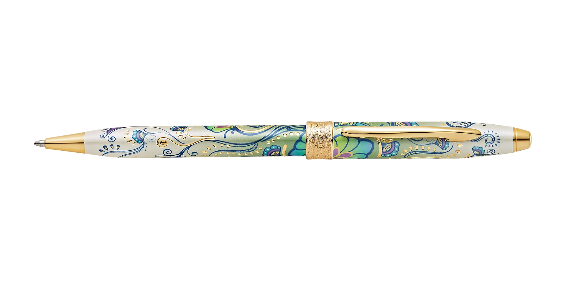 Cross Botanica Green Daylily Ballpoint Pen Picture