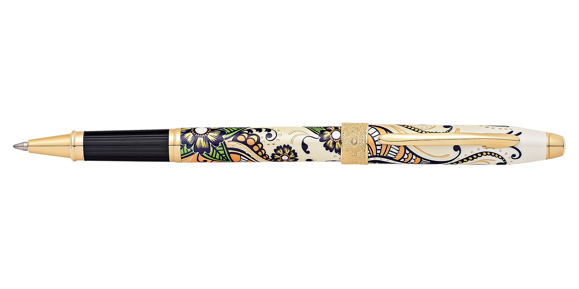 Cross Botanica Golden Magnolia Rolling Ball Pen Picture