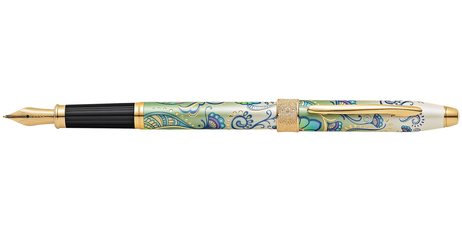 Cross Botanica Green Daylily Fountain Pen Picture