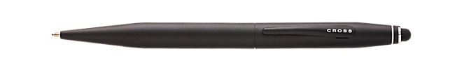 Tech 2 Satin Black Ballpoint Pen