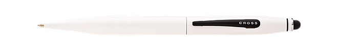 Tech 2 Pearl White Ballpoint Pen