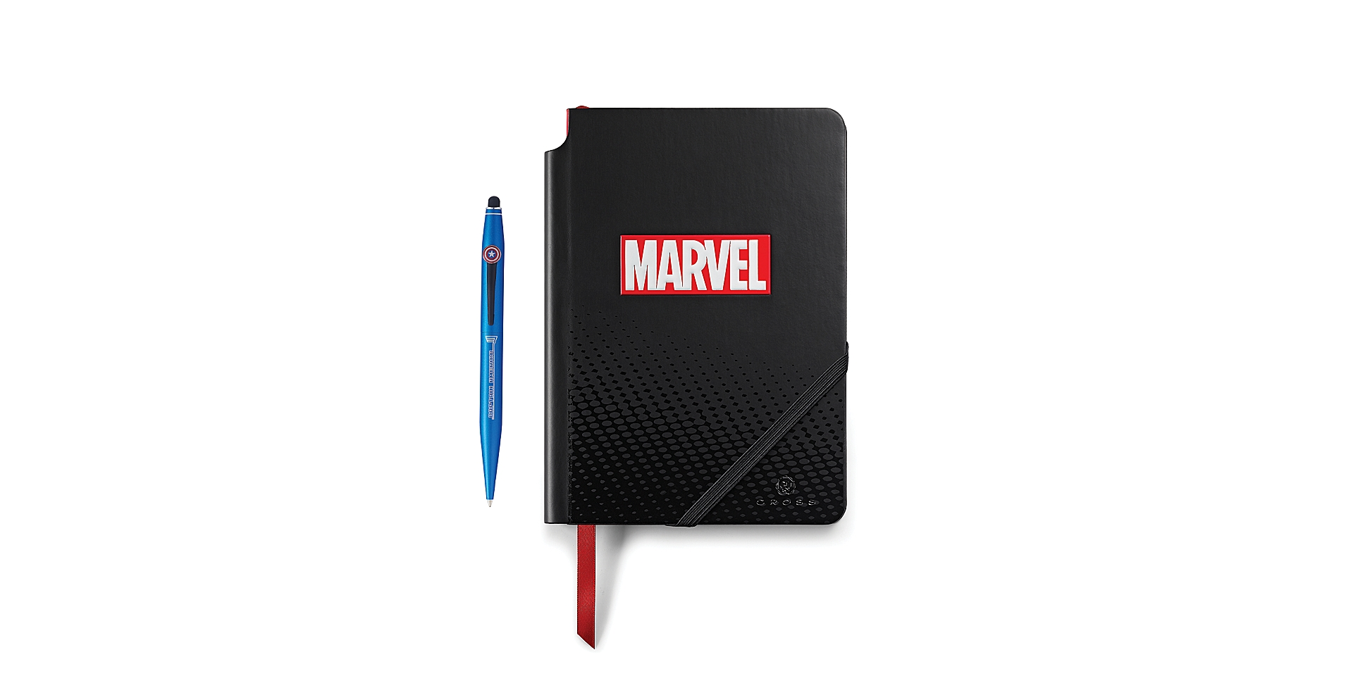 Cross Cross Marvel Tech2 and Journal Gift Set featuring Captain America Picture