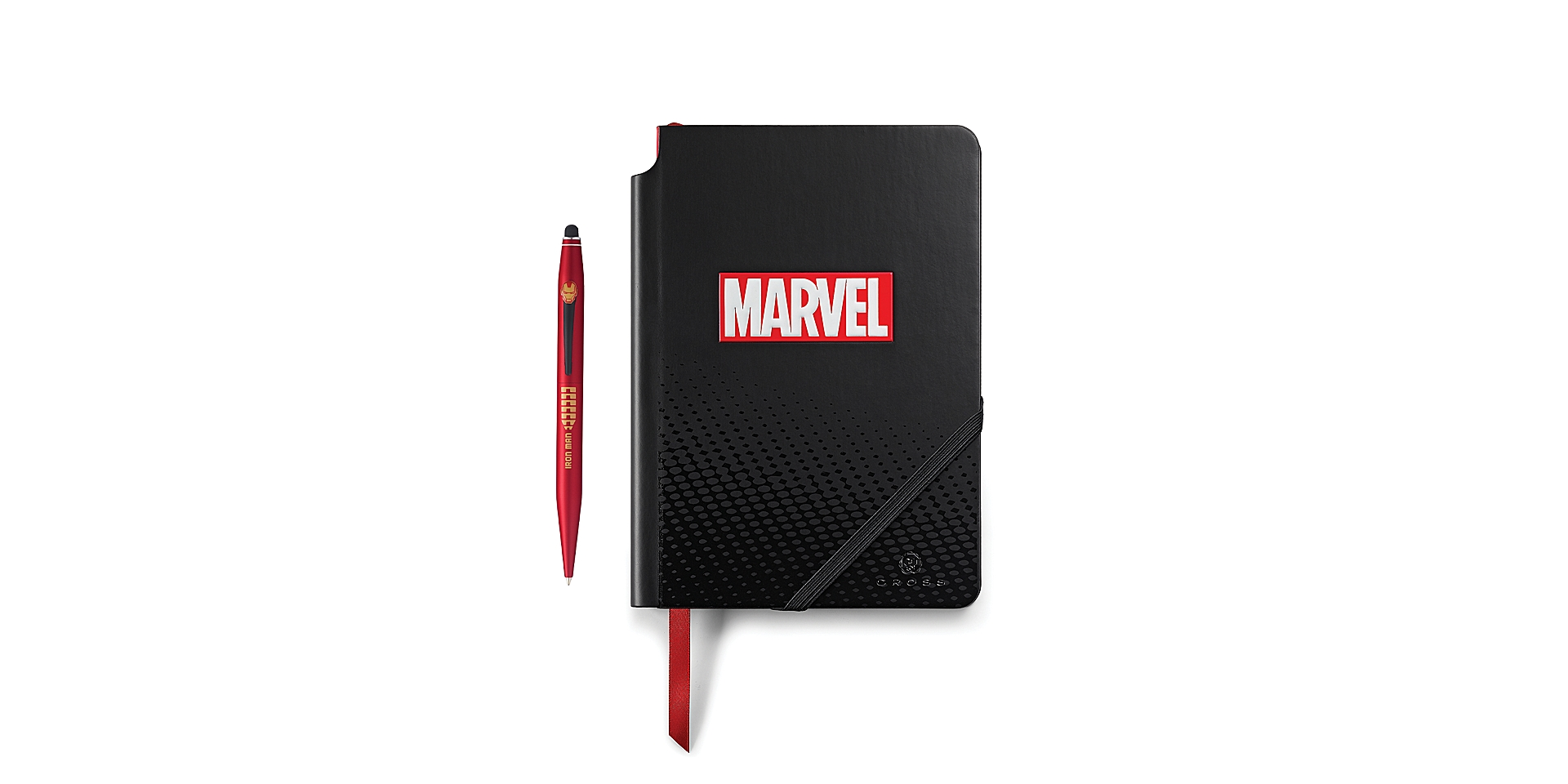 Cross Cross Marvel Tech2 and Journal Gift Set featuring Iron Man Picture