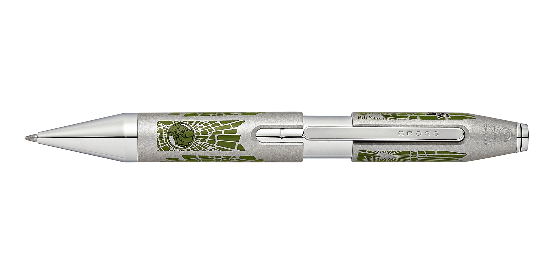 Cross Cross X Marvel Hulk Rollerball Pen Picture