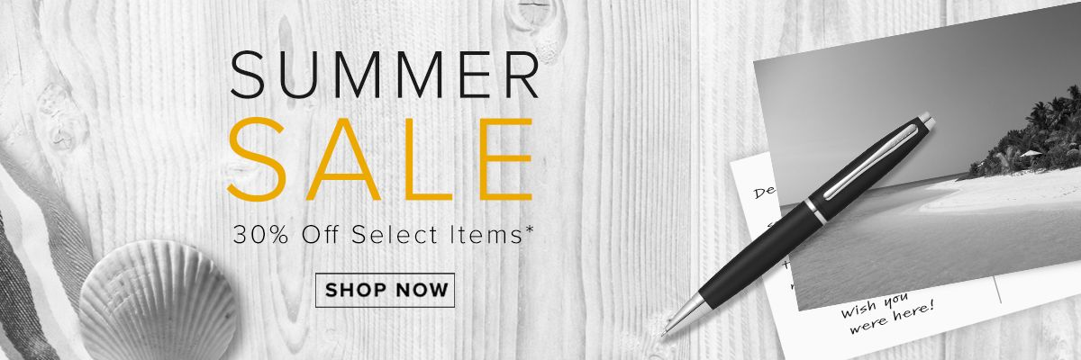 Summer Sale 30% Off Select Items*