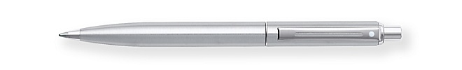 Sheaffer Sentinel Brushed Chrome Ballpoint Pen