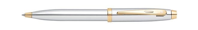 Sheaffer 100 Chrome with Gold Tone Ballpoint Pen
