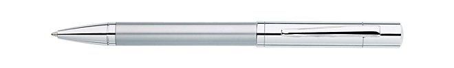 Greenwich Satin Chrome Ballpoint Pen