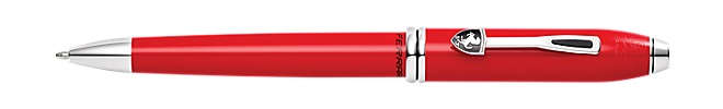 Cross Townsend Collection for Scuderia Ferrari Rosso Corsa Red Lacquer Ballpoint Pen