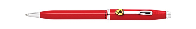 Collection Cross Century II pour Scuderia Ferrari Rosso Corsa Laque Rouge Brillant Stylo Bille